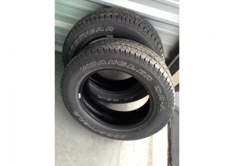Goodyear Wrangler Tires, P215/65R17